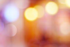 Αφηρημένη θαμπάδα bokeh, εορταστικό, εκλεκτής ποιότητας υπόβαθρο, πρότυπο Στοκ Εικόνες