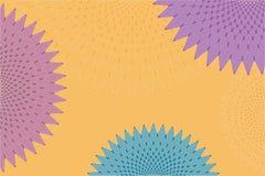 Αφηρημένη διακόσμηση διαμαντιών Στοκ Εικόνες
