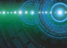 Αφηρημένη διανυσματική απεικόνιση υποβάθρου έννοιας τεχνολογίας Στοκ Εικόνα