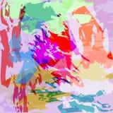 Αφηρημένη διανυσματική απεικόνιση watercolor Στοκ εικόνες με δικαίωμα ελεύθερης χρήσης