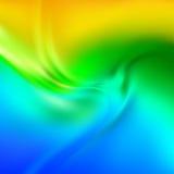 Αφηρημένη διανυσματική σύσταση, χρωματισμένο μετάξι Στοκ Εικόνα