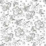 Αφηρημένη διανυσματική floral διακόσμηση Εκλεκτής ποιότητας ανασκόπηση διακοσμήσεων ελεύθερη απεικόνιση δικαιώματος