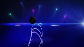 Αφηρημένη διαστημική σκηνή 1 απεικόνιση αποθεμάτων