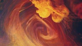 Αφηρημένη κίνηση δινών χρωμάτων γαλαξιών μικτή στρόβιλος φιλμ μικρού μήκους