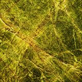 Αφηρημένη κίτρινη σύσταση υποβάθρου Στοκ εικόνες με δικαίωμα ελεύθερης χρήσης