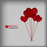 αφηρημένη καρδιά σχεδίου &alpha Στοκ φωτογραφία με δικαίωμα ελεύθερης χρήσης