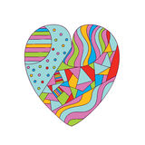 αφηρημένη καρδιά Στοκ εικόνες με δικαίωμα ελεύθερης χρήσης