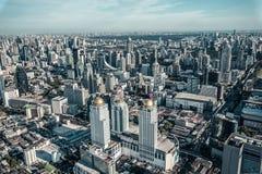 Αφηρημένη κορυφή του ουρανοξύστη άποψης, υπόβαθρο, στοκ εικόνα με δικαίωμα ελεύθερης χρήσης