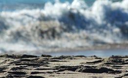 αφηρημένη κυματωγή παραλιώ&n Στοκ Εικόνα