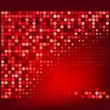 Αφηρημένη κόκκινη ημίτοή διανυσματική ανασκόπηση Στοκ εικόνες με δικαίωμα ελεύθερης χρήσης