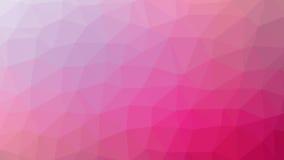Αφηρημένη κόκκινη διανυσματική κλίση lowploly του υποβάθρου πολλών τριγώνων για τη χρήση στο σχέδιο Στοκ Φωτογραφία