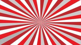 Αφηρημένη κόκκινη και άσπρη ανασκόπηση απόθεμα βίντεο