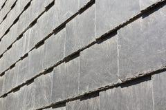 Αφηρημένη λεπτομέρεια των παλαιών κεραμιδιών στεγών πλακών Στοκ Φωτογραφία