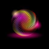 αφηρημένη μαγική σφαίρα χρώμα Στοκ εικόνες με δικαίωμα ελεύθερης χρήσης