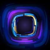αφηρημένη μορφή τετραγώνων διανυσματική απεικόνιση