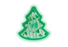 Αφηρημένη μορφή χριστουγεννιάτικων δέντρων υποβάθρου Στοκ φωτογραφία με δικαίωμα ελεύθερης χρήσης