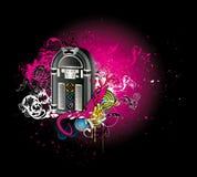αφηρημένη μουσική χρώματος Στοκ εικόνα με δικαίωμα ελεύθερης χρήσης