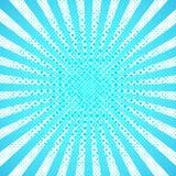 Αφηρημένη μπλε ανασκόπηση επίσης corel σύρετε το διάνυσμα απεικόνισης Στοκ Φωτογραφίες