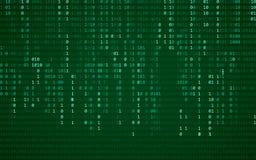 Αφηρημένη μπλε ανασκόπηση τεχνολογίας binary code computer Προγραμματισμός/κωδικοποίηση/έννοια χάκερ η απεικόνιση στοών ανασκόπησ Ελεύθερη απεικόνιση δικαιώματος
