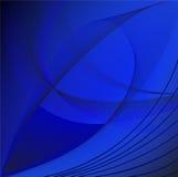 Αφηρημένη μπλε ανασκόπηση Στοκ Φωτογραφία