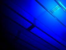αφηρημένη μπλε βιομηχανία &lambd Στοκ φωτογραφία με δικαίωμα ελεύθερης χρήσης