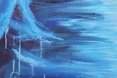 αφηρημένη μπλε εικόνα βουρτσών ελεύθερη απεικόνιση δικαιώματος