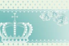 αφηρημένη μπλε κορώνα ανασ&ka απεικόνιση αποθεμάτων