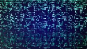 Αφηρημένη μπλε ανασκόπηση τεχνολογίας Στοκ Φωτογραφία