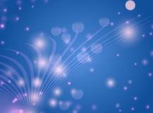 Αφηρημένη μπλε ανασκόπηση Στοκ εικόνα με δικαίωμα ελεύθερης χρήσης