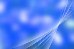 Αφηρημένη μπλε ανασκόπηση Στοκ Φωτογραφίες