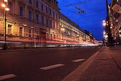 αφηρημένη νύχτα ανασκόπησης Στοκ Φωτογραφίες