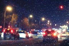 αφηρημένη νύχτα ανασκόπησης Στοκ φωτογραφίες με δικαίωμα ελεύθερης χρήσης
