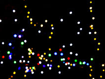 αφηρημένη νύχτα ανασκόπησης Στοκ φωτογραφία με δικαίωμα ελεύθερης χρήσης