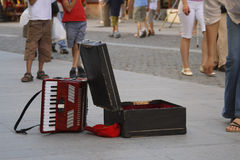 αφηρημένη οδός τραγουδισ Στοκ Φωτογραφίες