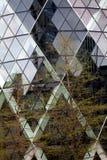 αφηρημένη οικοδόμηση Λον&delta Στοκ Φωτογραφία
