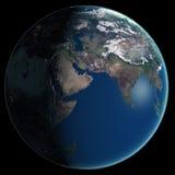 αφηρημένη ομαλή επιφάνεια πλανητών εικόνας γήινου εδάφους Στοκ Φωτογραφία