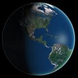 αφηρημένη ομαλή επιφάνεια πλανητών εικόνας γήινου εδάφους Στοκ εικόνες με δικαίωμα ελεύθερης χρήσης