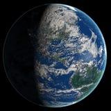 αφηρημένη ομαλή επιφάνεια πλανητών εικόνας γήινου εδάφους Στοκ Εικόνες