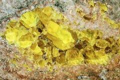 Αφηρημένη ορυκτή σύσταση Στοκ Φωτογραφία