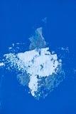 Αφηρημένη πέτρα χρώματος Aqua Στοκ φωτογραφίες με δικαίωμα ελεύθερης χρήσης