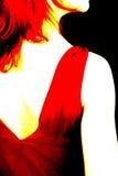 αφηρημένη πίσω θηλυκή όψη στοκ εικόνα με δικαίωμα ελεύθερης χρήσης