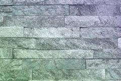 Αφηρημένη παλαιά ανοικτό μπλε φυσική quartzite σύσταση τούβλων πετρών για τη χρήση ως υπόβαθρο στοκ εικόνες