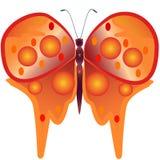 αφηρημένη πεταλούδα ελεύθερη απεικόνιση δικαιώματος