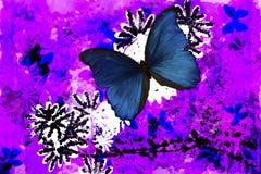 αφηρημένη πεταλούδα Στοκ εικόνα με δικαίωμα ελεύθερης χρήσης
