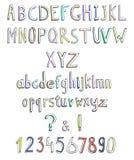 Αφηρημένη πηγή doodle Στοκ φωτογραφίες με δικαίωμα ελεύθερης χρήσης