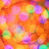 Αφηρημένη πολύχρωμη φωτογραφία bokeh Στοκ φωτογραφία με δικαίωμα ελεύθερης χρήσης