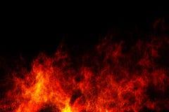 Αφηρημένη πορτοκαλιά έκρηξη σκόνης στο μαύρο υπόβαθρο Στοκ φωτογραφία με δικαίωμα ελεύθερης χρήσης