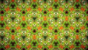 Αφηρημένη πορτοκαλιά πράσινη μπλε ταπετσαρία σχεδίων Στοκ Φωτογραφίες