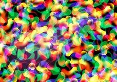 Αφηρημένη πολύχρωμη ανασκόπηση Στοκ Εικόνα