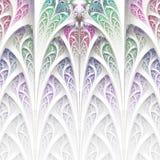 Αφηρημένη πολύχρωμη απεικόνιση σε ένα άσπρο υπόβαθρο Στοκ Φωτογραφίες